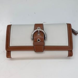 Coach Wallet and Check Book